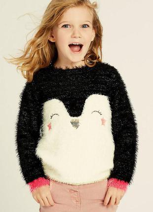 Красивый свитерок для малышки от marks & spencer на 9-12 мес. ...