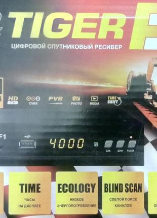 Спутниковый ресивер (тюнер) Tiger F1 HD