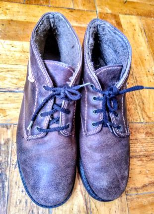 Ботинки зимние мужские Sohle synthetik, обувь