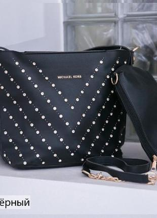 Женская сумка+клатч