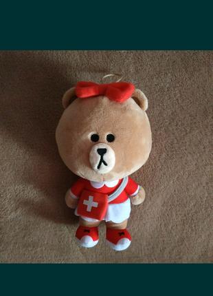 Подарок мишка медсестра доктор