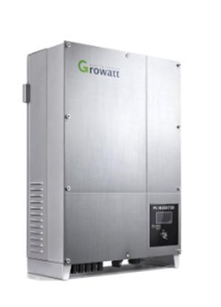 Инвертор напряжения сетевой GROWATT 10000UE(10кВ,3-фазный,2 МРPT)
