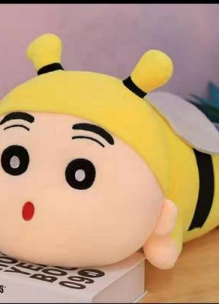 Пчела пчёлка игрушка-подушка, плед, 3 в 1. подарок ребенку...