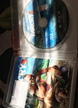 Игры/диски для ps3 Far cry3 на русском KillZone2 , Batlefield3