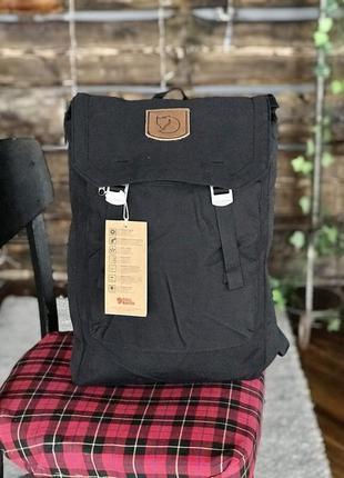 Туристический рюкзак fjallraven foldsack g-1000 black купить ф...