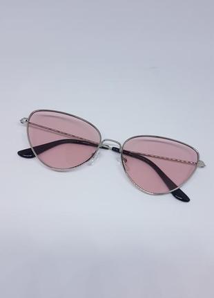 Солнцезащитные женские  очки кошачий глаз