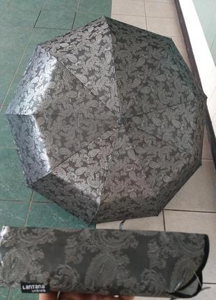 Зонт автомат шелкография антиветер стальной.