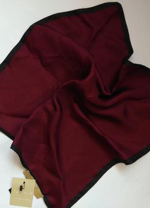 Шелковый платок косынка tr 33*33 см