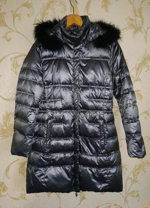 Зимняя фирменная куртка пуховик jones австрия размер 46-48