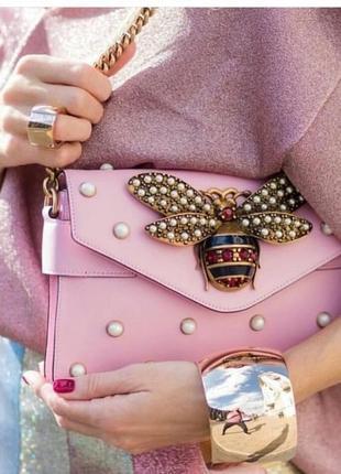 Безумно- красивая сумка со стрекозой ручной работы