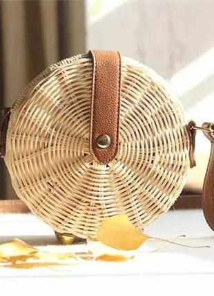 Ексклюзивная брендовая соломенная сумка ручной работы  ,,, сам...
