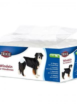 Подгузники для собак Trixie 28-40 см S-M