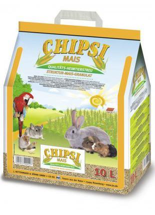 Гигиенический наполнитель Chipsi Mais 10 л (кукурузный)
