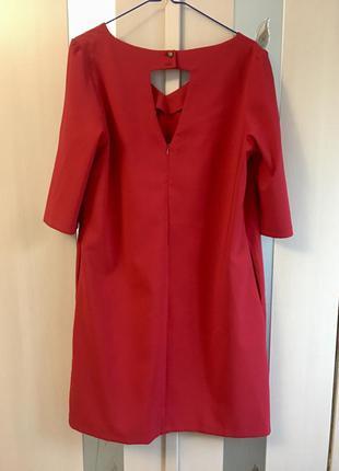 Красное платье большой размер
