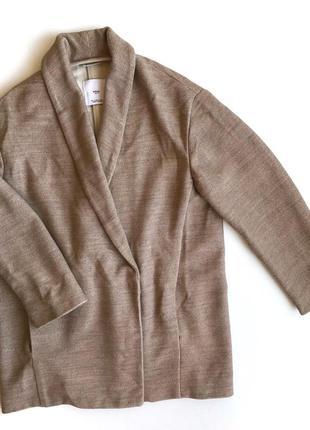 Жакет mango легкое пальто oversize в стиле zara dutti