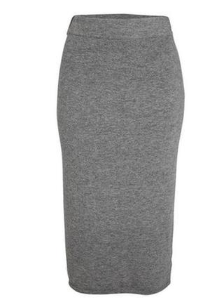 Юбка миди lindex в стиле zara шерстяная