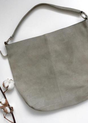 Замшевая сумка в стиле zara