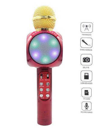 Караоке-микрофон светящийся