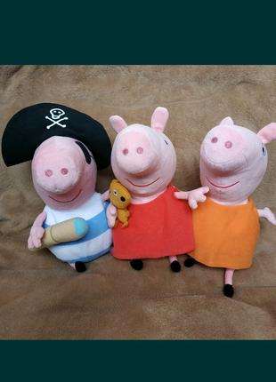 Свинка Пеппа, Джордж,мама,папа, Джордж пират