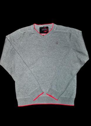 Свитер женский бренд next m серый свитшот яркий неоново розовый