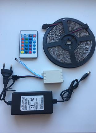Лента LED 5050 RGB  16 цветов Комплект полный