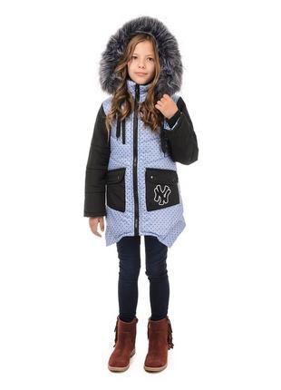Зимняя куртка  наполнитель синтепон подкладка флис подстежка-ж...
