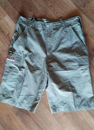Талия 84см армейские или тактические шорты hoots. цвет хаки. н...