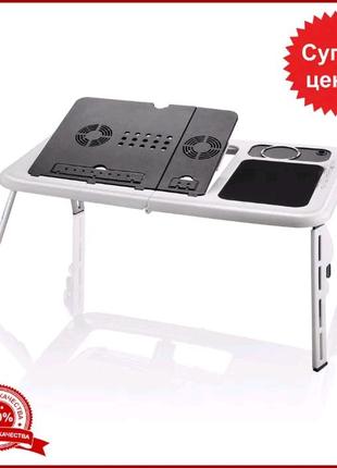 Компьютерный трансформер столик для ноутбука стол подставка с кул