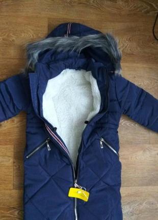 Классическое зимние пальто прямого кроя.