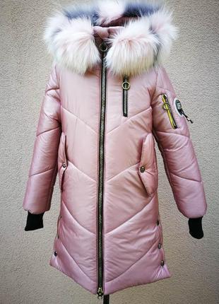 Зимняя куртка для девочки подростка