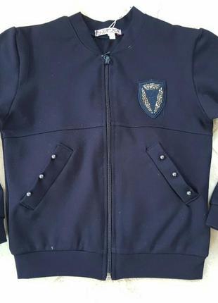 Пиджак темно-синий цвет школьный