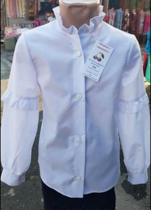 Белоснежный цвет блузки