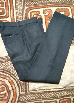 Отличные мужские серые брюки, штаны