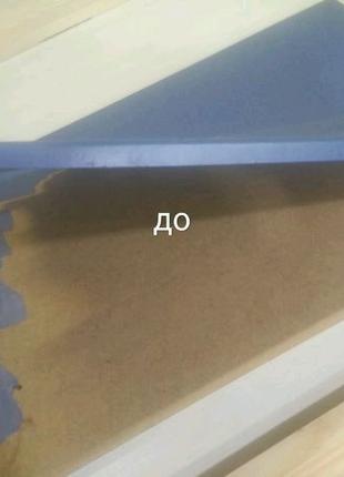 Реставрация и покраска кухонных мдф фасадов с плёночным покрытием