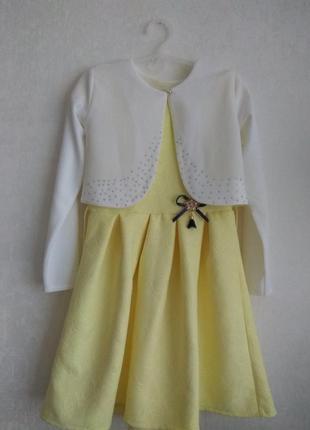 Платье на девочку рост 146