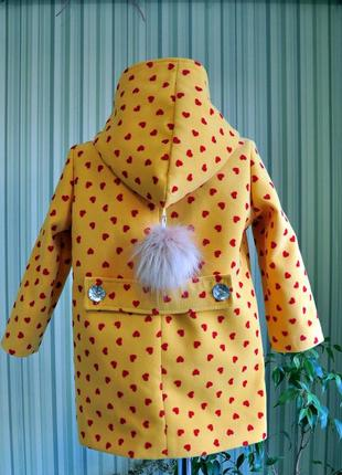 Пальто детское! ткань кашемир на подкладке