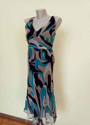 Брендовое платье шелк
