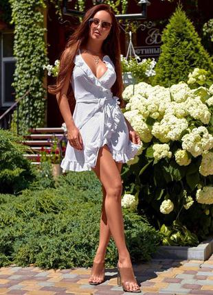 ❤ белое короткое платье  ❤