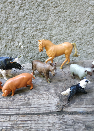 Сельскохозяйственные животные,фирма Britans,Англия,фигурки
