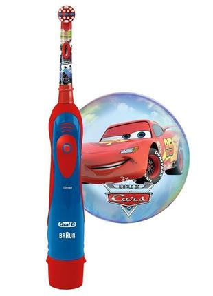 Зубная электрическая щетка Oral-B Braun «Тачки» оригинал