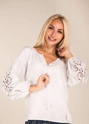 Вышиванка сорочка блузка с вышивкой прошва