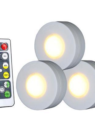 Cтильный светодиодный светильник для шкафа с пультом дистанционно