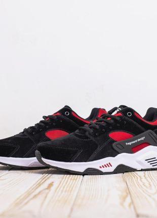 3146 Nike Huarache fragment design кроссовки мужские найк хуараче
