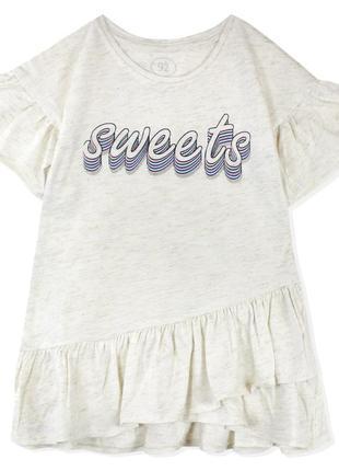 Платье для девочки, молочное.
