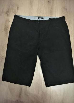 Мужские легкие шорты легкие черные lc  waikiki