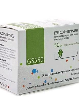 Тест полоски Bionime gs 550