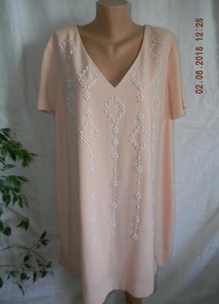 Нежное платье с вышивкой большого размера next