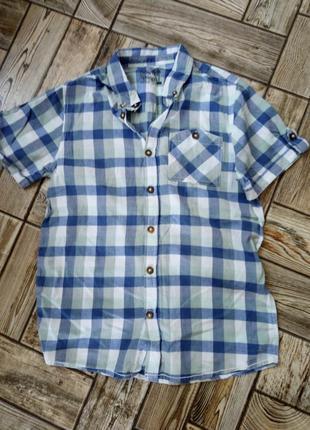 Гарна легка сорочка на хлопця 12-13 років