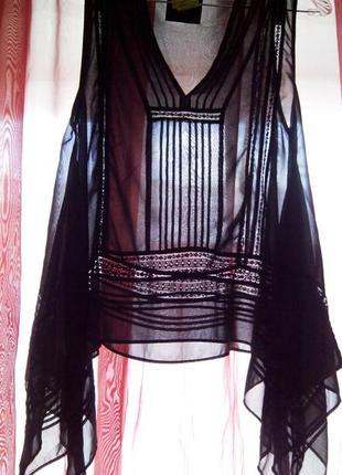 Шикарная прозрачная блузка