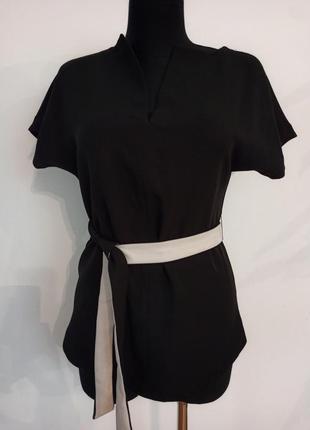 Базовий топ блуза кімоно mint velvet кимоно пояс